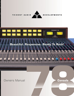trident-78-console-manual-cover